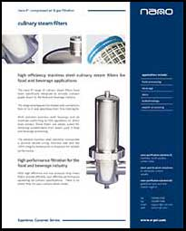 P1 Steam filters Catalog